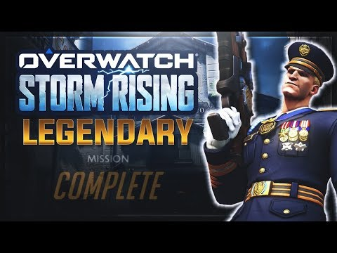 Overwatch: STORM RISING on LEGENDARY Difficulty | Emongg