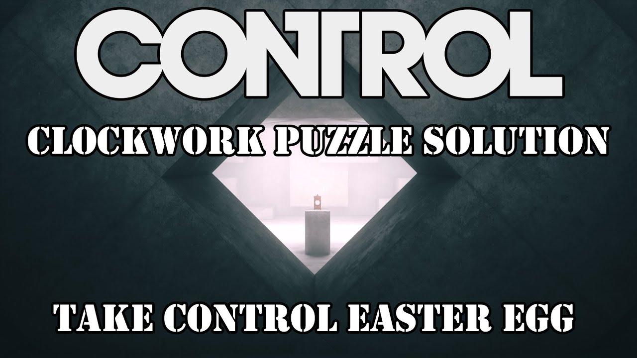 CONTROL - AWE DLC - Clock Puzzle/Take Control Easter Egg