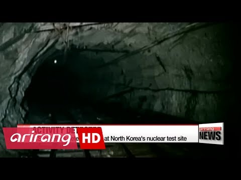 U.S. satellites detect activity at North Korea's nuclear test site