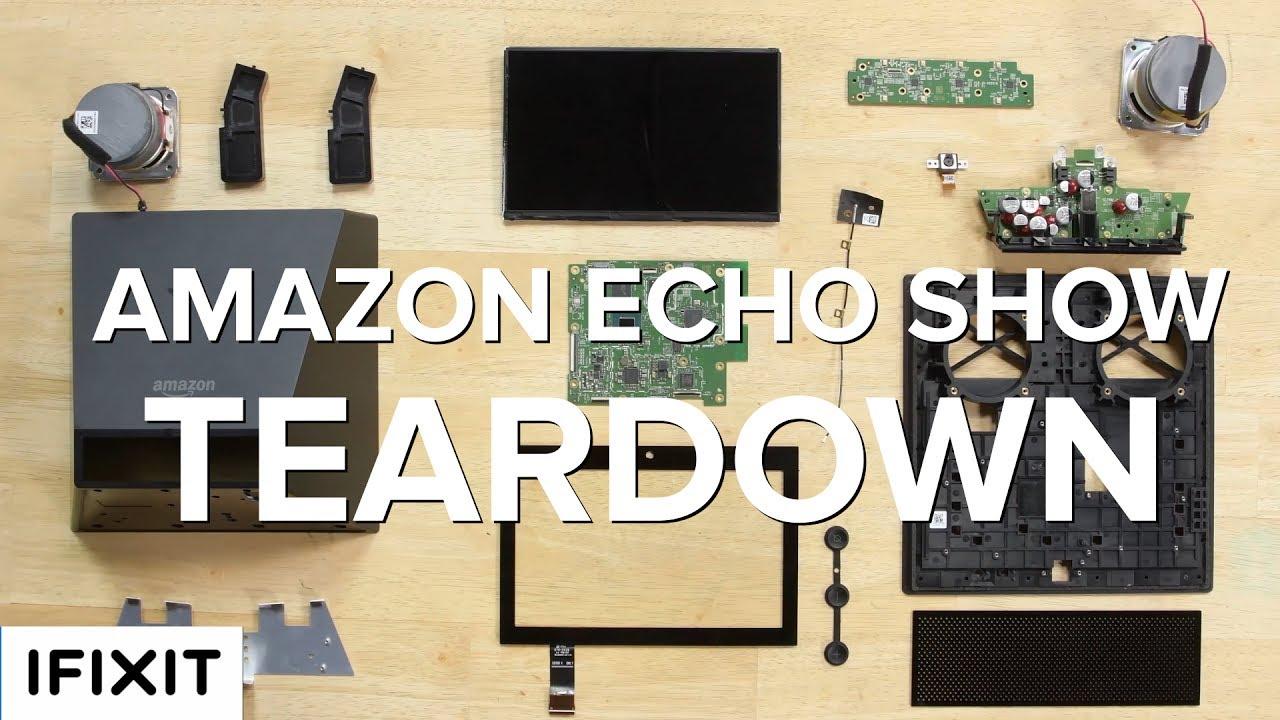Amazon Echo Show Teardown!