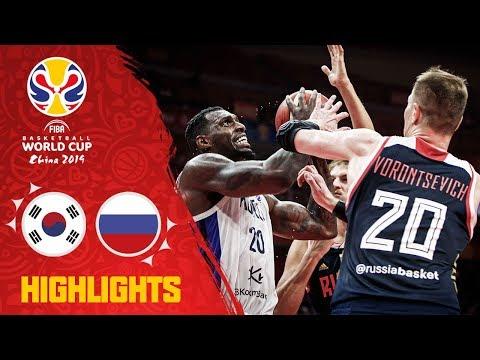 Korea v Russia - Highlights - FIBA Basketball World Cup 2019