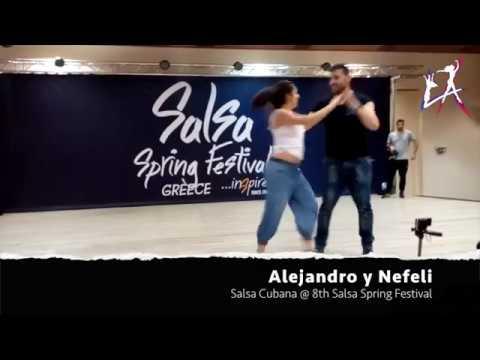 Alejandro y Nefeli (L.A Dance Academy) @ 8th Salsa Spring Festival