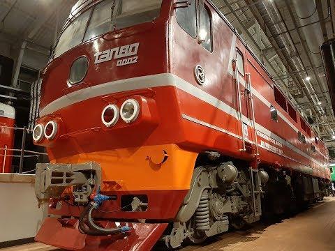 Самый быстрый тепловоз в мире. Обзор ТЭП80 / The Fastest Diesel Locomotive In The World.