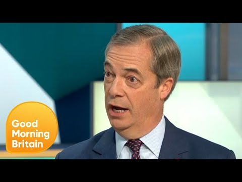 Nigel Farage MEP on Not Standing for MP in Upcoming General Election | Good Morning Britain