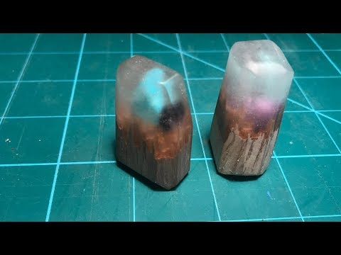 Making Pendants From Resin, Wood, and Rocks