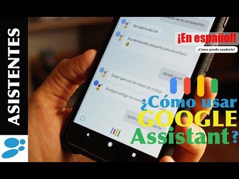 ¿Cómo funciona Google Assistant en Español?