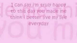1st Lady - Baby i love you Lyrics