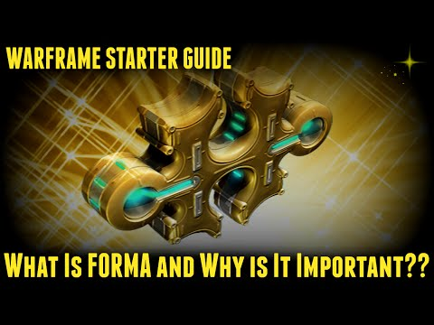 Warframe - What Is Forma And How Do You Use It??