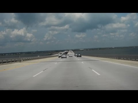Road Trip #027 - I-10 East - New Orleans to Slidell, Louisiana