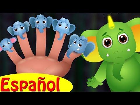 Familia Dedo Elefante   ChuChu TV Canciones de Familia Dedo de Animales