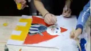 видео Мастер-класс для родителей «Рисование акриловыми красками по ткани»