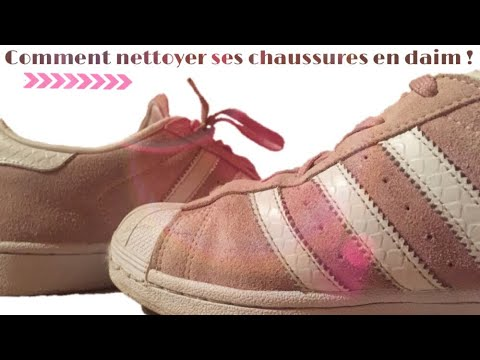 comment nettoyer ses chaussures en daim youtube. Black Bedroom Furniture Sets. Home Design Ideas