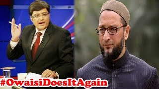 Asaduddin Owaisi Controversy Over Yakub Memon  : The Newshour Debate (24th July 2015)