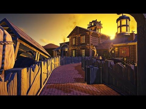 Planet Coaster: Adfo's Dreamland (Part 4) - Queue & Western Facades