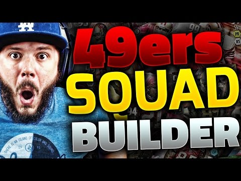 ALL-TIME SAN FRANCISCO 49ERS SQUAD BUILDER & GAMEPLAY   MADDEN 16 ULTIMATE TEAM