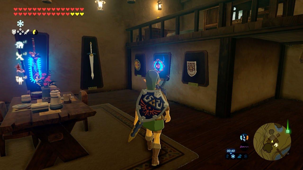 Zelda botw link 39 s house tour 2 0 doovi for Housse zelda