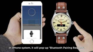 WatchOut Time Engine Hybrid Smart Watch | World's 1st Hybrid SmartWatch with Smart Screen
