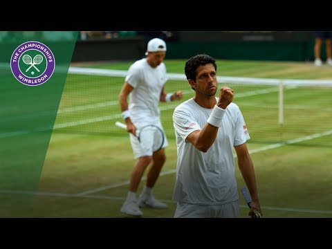 Kubot/Melo v Marach/Pavic highlights - Wimbledon 2017 gentlemen's doubles final