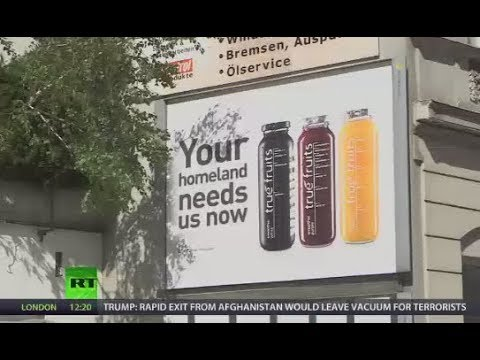 'Your homeland needs us now': Smoothie ads in Austria slammed for 'racist' overtones