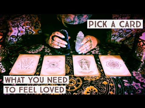 YOUR LOVE LANGUAGE ❤️What You Need To Feel Loved In A Relationship❤️PICK A CARD