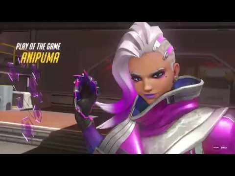 Overwatch - Sombra - Play of the Game