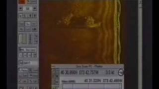 Side Scan Sonar shipwreck Valerie e