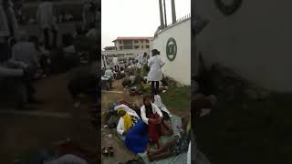 UNIBADAN Medical Students Stranded After Being Evicted From Hostel.