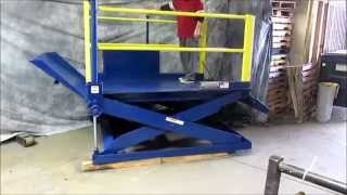For Sale : Autoquip Pdq-60 Portable Loading Dock 6,000 Lbs 7' X 5'