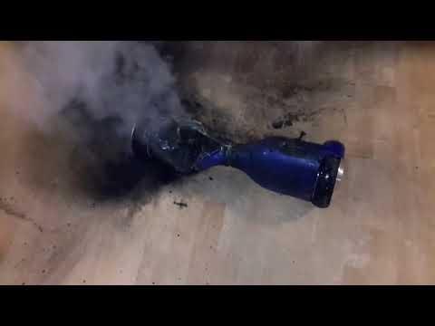Взрывы гироскутера