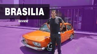 Manejamos un VW Brasilia ( Nos encanto el carrito )