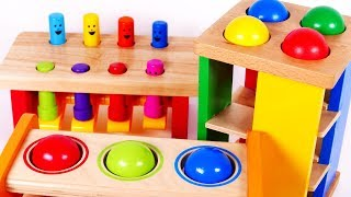 Learning Colors with Pounding Tables for Children