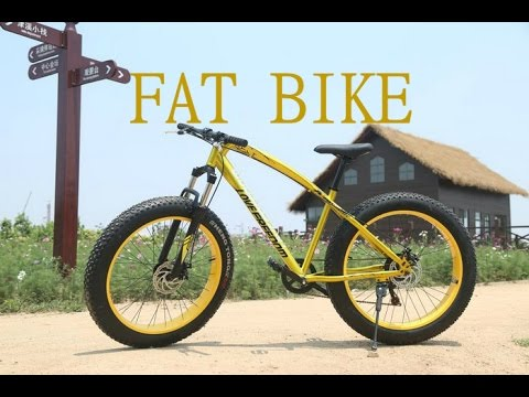 Fat Bike Love Freedom посылка из китая Aliexpress распаковка