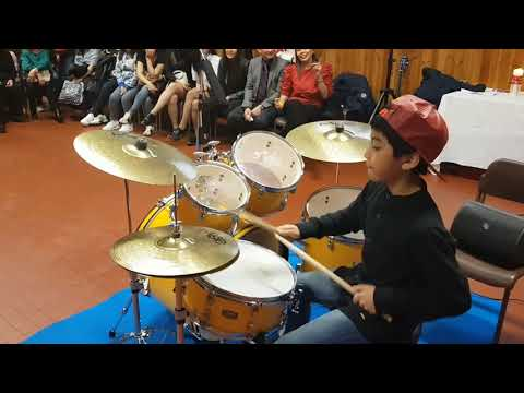 Mark Justine's Dance and Basket Case (Green Day) Drum Cover