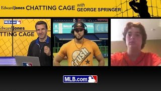 Chatting Cage: George Springer answers fan questions