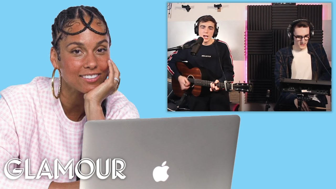 Download Alicia Keys Watches Fan Covers on YouTube | Glamour