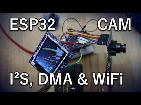 ESP32 I2S Camera (OV7670)