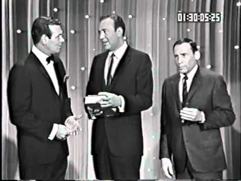 Hollywood Palace 2-19 David Janssen (host), Carl Reiner, Mel Brooks and Tim Conway, Vic Damone