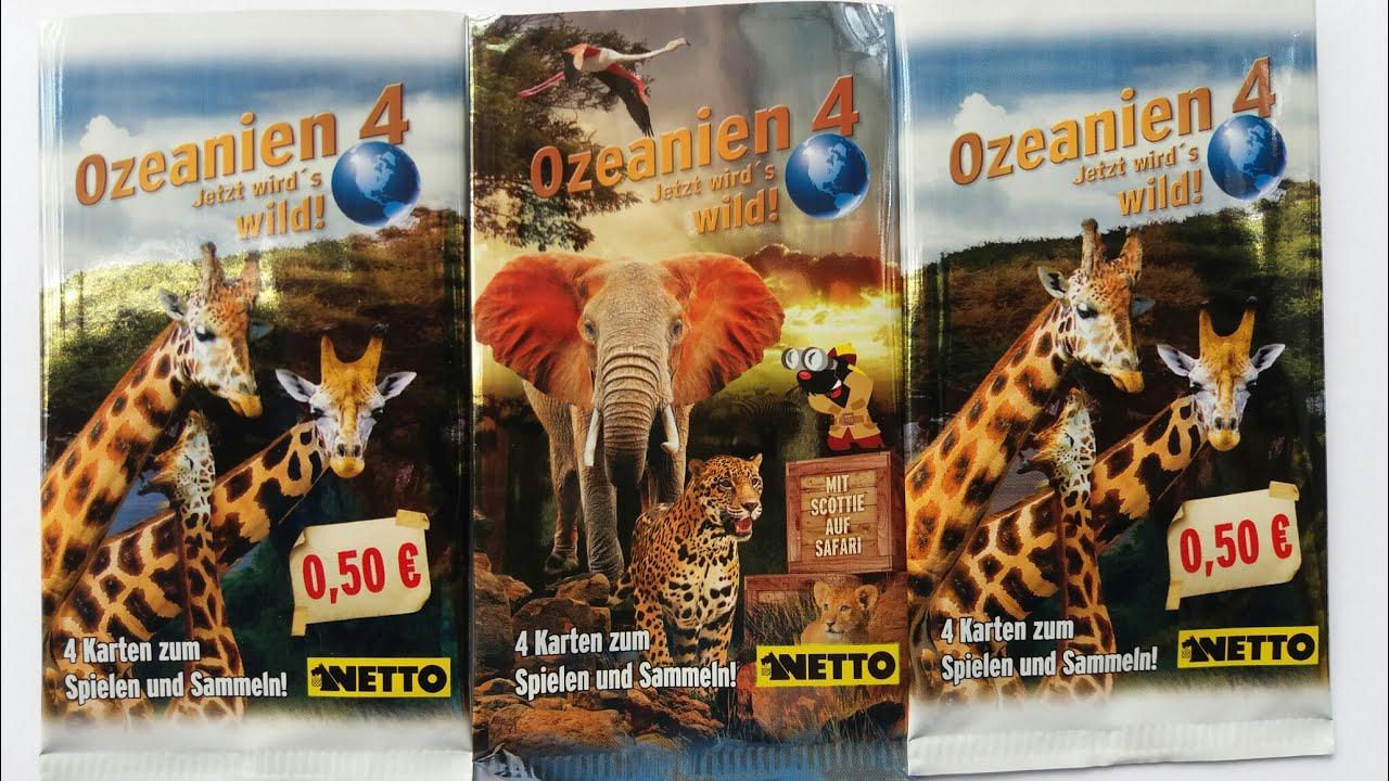OZEANIEN 4 KARTEN
