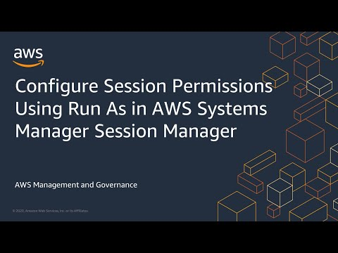 Configure Session Permissions Using Run As in AWS Systems Manager Session Manager