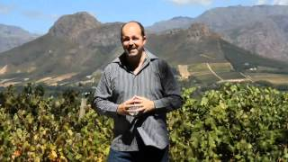 Sean Willard - Video in Franschhoek - Enjoy the Journey!