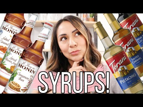 Coffee Syrups (Answering Your Questions!)