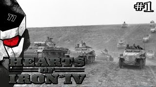 Blitzkrieg - Hearts of Iron IV HOI4 with Germany - #1
