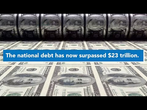 The National Debt Is Now More Than $23 Trillion