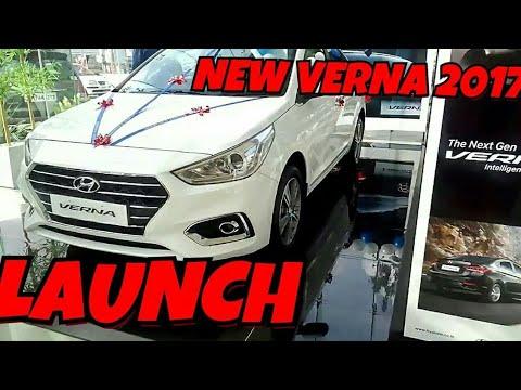 The New Hyundai Verna 2017 Hyundai launch in india