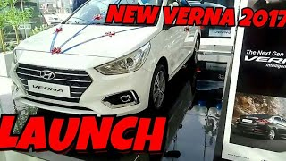 The New Hyundai Verna 2017 Hyundai launch in india