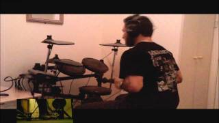 Mastodon - Ghost Of Karelia Drum Cover [HD Sound]