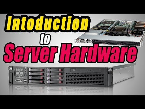 Introduction To Server Hardware Tour $ (HP Server)