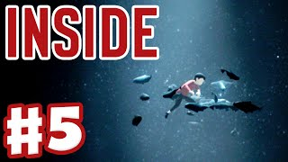 Inside - Gameplay Walkthrough Part 5 - Playdead's Inside (Indie Game for Xbox One and PC)