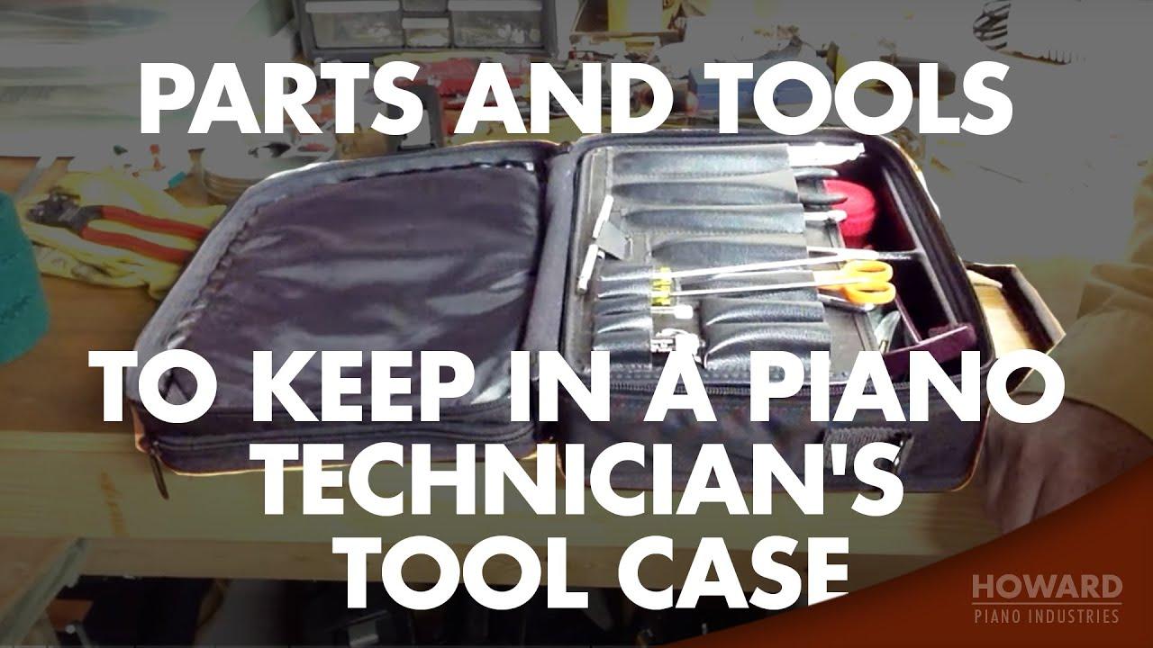Assortment of common piano repair parts Piano Repair Parts Kit