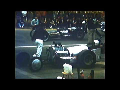 1959 Riverside Raceway Garlits vs unsual 671 set up FED
